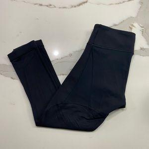 Lululemon Black Cropped Leggings